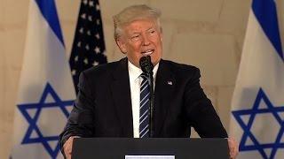 Trump gives remarks in Jerusalem (full speech)