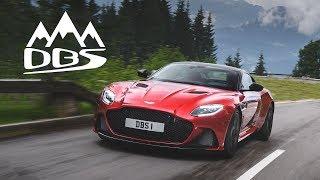 Aston Martin DBS Superleggera: Mountains Of Torque - Carfection (4K)