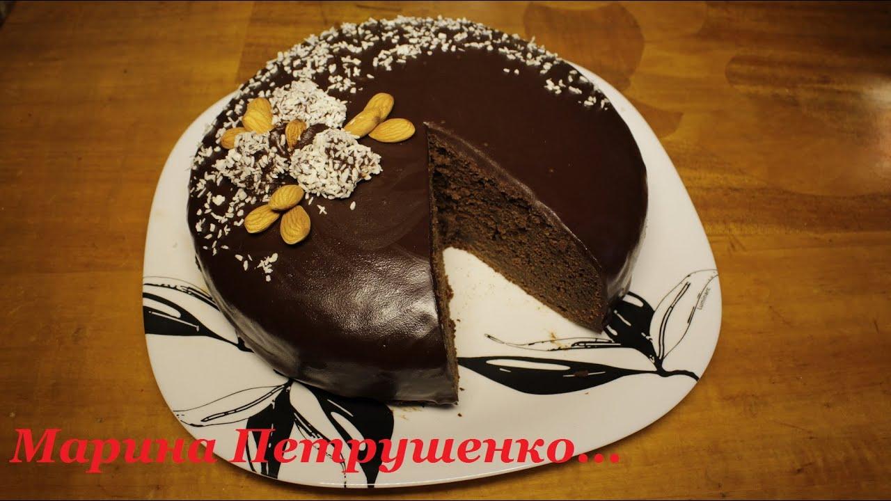 Торт бисквит шоколадный в мультиварке рецепты с фото