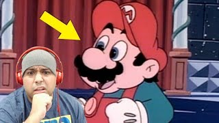 REACTING TO OLD SUPER MARIO CARTOONS..