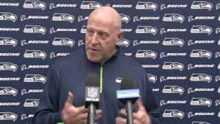 Seahawks Assistant Head Coach/Offensive Line Coach Tom Cable Divisional Press Conference