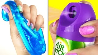 1 INGREDIENT SLIME 💦 Testing NO BORAX Recipes