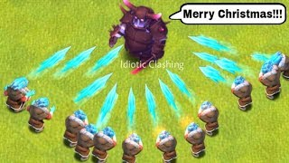 COC Funny Moment Glitches Trolls Compilation | Clash of Clans Montage Clashmas Special #2