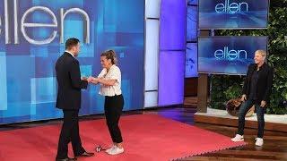 Ellen Sets Up a