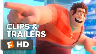 Ralph Breaks the Internet ALL Clips + Trailers | Fandango Family