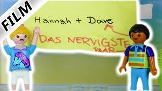 Playmobil Film deutsch | MOBBING in der Schule! Hannah & Dave sind das nervigste Paar? Kinderserie