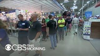 Hurricane Florence evacuation: Supplies running low in Carolinas