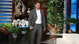 Hugh Jackman Helps The Audience Get Lucky