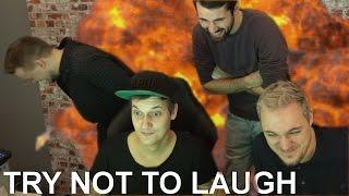 Eine fast witzige TRY NOT TO LAUGH Challenge mit dem Team! :D
