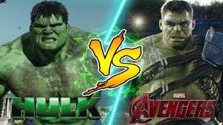 Hulk vs Hulk! WHO WOULD WIN IN A FIGHT?