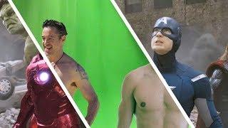 5 Filme vor und nach den Spezialeffekten!