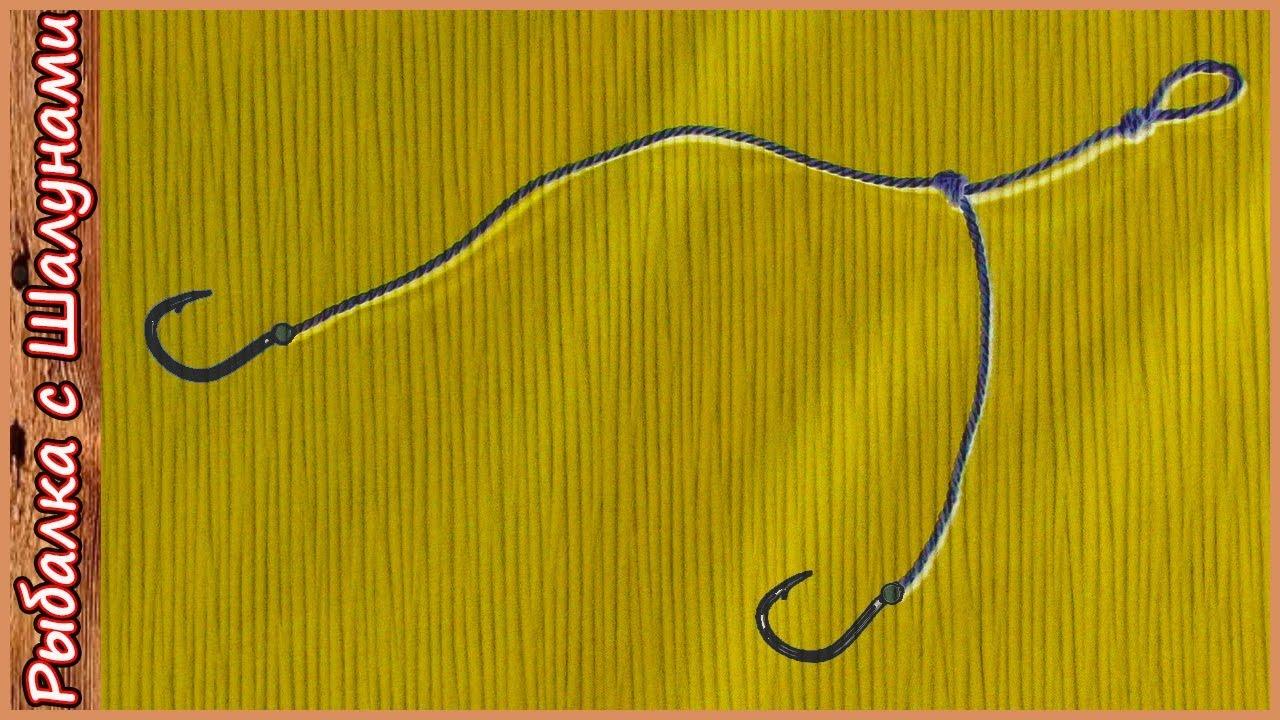 петли на крючки рыболовные