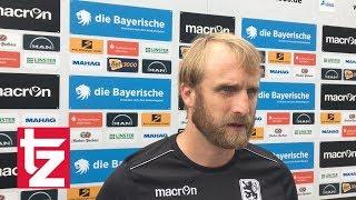 TSV 1860 Chefcoach Bierofka zum Spiel gegen Ingolstadt II