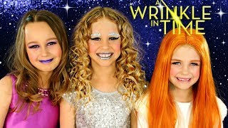Disney A Wrinkle In Time Makeup and Costumes