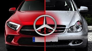 Mercedes CLS Class Evolution 2005 - 2018   Old Vs New Gen Mercedes CLS Coupe