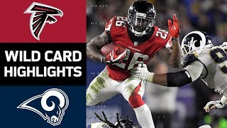 Falcons vs. Rams   NFL Wild Card Game Highlights