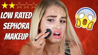 TESTING LOW RATED SEPHORA PRODUCTS