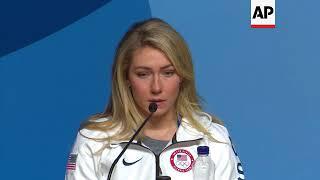 Olympic gold medalist Shiffrin: I