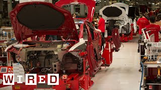 How the Tesla Model S is Made   Tesla Motors Part 1 (WIRED)