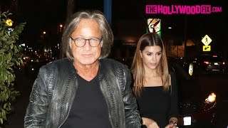 Mohamed Hadid & Shiva Safai Go On A Dinner Date At Delilah