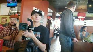 After Court cop watches and  1 amendment activists  time to eat Thank you   subscribers paid for it