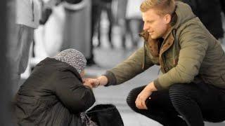 Obdachlosen eine Freude machen !