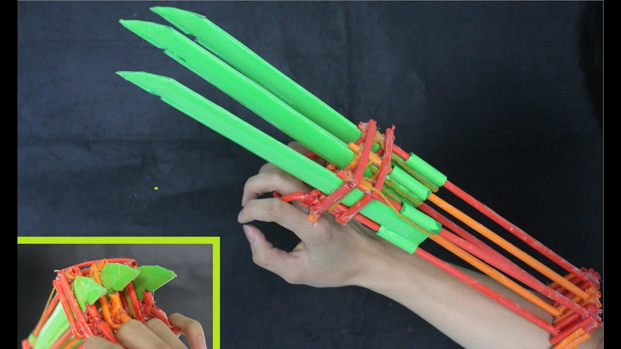 Как сделать когти росомахи из бумаги matita