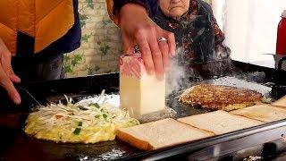 창동 할머니 토스트 - 한국 길거리음식 / Grandmother