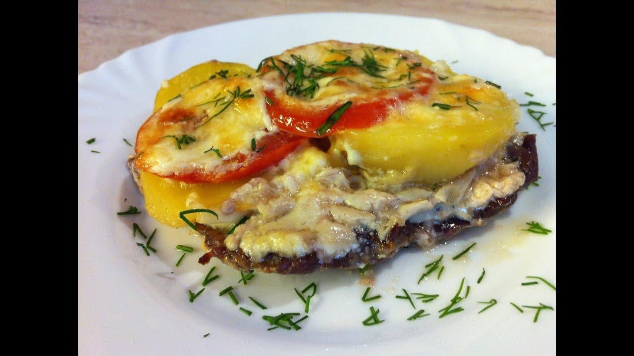 Мясо по французски с картошкой рецепт с фото пошагово