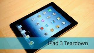 iPad 3 Take Apart/Tear Down/Disassembly