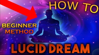 EASY* How to Lucid Dream for Beginners! - Control your dreams & Fly