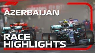 2019 Azerbaijan Grand Prix: Race Highlights