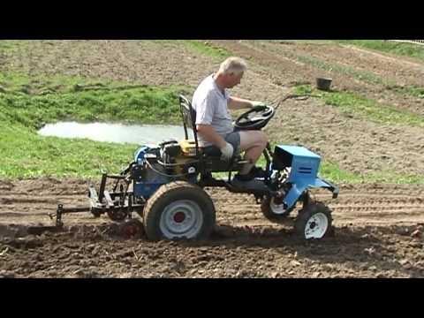 Самодельный трактор своими руками из мотоблока
