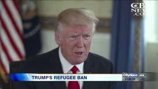 Video: Trump suspends refugee program, bans entry from 7 Muslim countries
