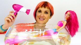 Кукла БАРБИ стала РУСАЛКОЙ 🙆 Мультик про русалочку Бибабу. Маша Капуки Кануки и игрушки для девочек