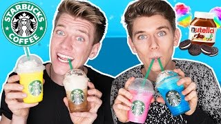 TASTING STARBUCKS SECRET MENU ITEMS