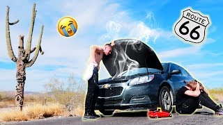 48 HOUR DRIVE ACROSS THE WORLD WITH MY BEST FRIEND GONE WRONG...