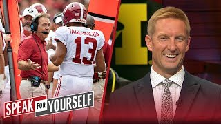 Joel Klatt joins Whitlock and Wiley to discuss the CFB playoff picture   CFB   SPEAK FOR YOURSELF