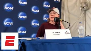 Texas A&M coach Jo Evans discusses swing in emotions after loss to Florida | ESPN