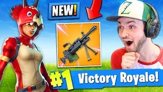 *NEW* LIGHT MACHINE GUN coming to Fortnite: Battle Royale! (LMG UPDATE)