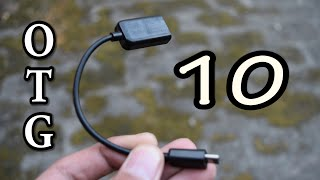 Top 10 USES of OTG Cable that will BLOW YOUR MIND!