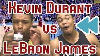 LEBRON VS KD 66 POINTS COMBINED! 2012 NBA FINALS GAME 1 FULL HIGHLIGHTS AND REACTION! FLASHBACK!