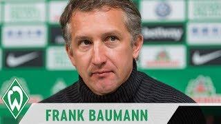 Vom Trainer und den Spielern überzeugt - Frank Baumann glaubt an die Wende gegen Köln | SVW