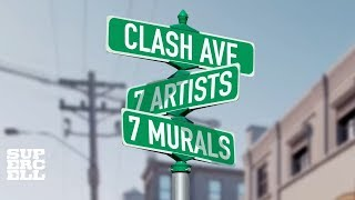Clash of Clans Street Art in 360 Degrees!