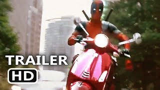 """DEADPOOL 2 """"Scooter Chase"""" Clip (NEW 2018) Ryan Reynolds Movie HD"""