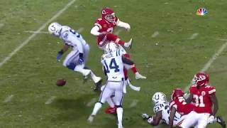 Colts Block Punt & Recover For TD | Colts vs. Chiefs | NFL