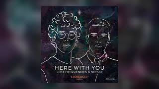 Lost Frequencies & Netsky - Here With You (Stereoclip Remix) [Cover Art] [Ultra Music]