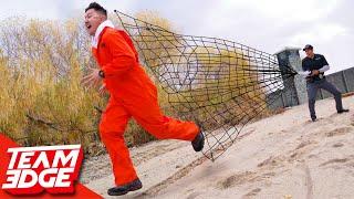 Net Gun Prisoner Chase Challenge!