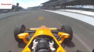 Fernando Alonso Onboard Double Overtake Indy 500