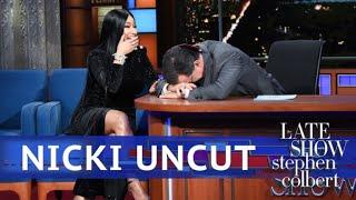 UNCUT: The Nicki Minaj Interview With Stephen Colbert